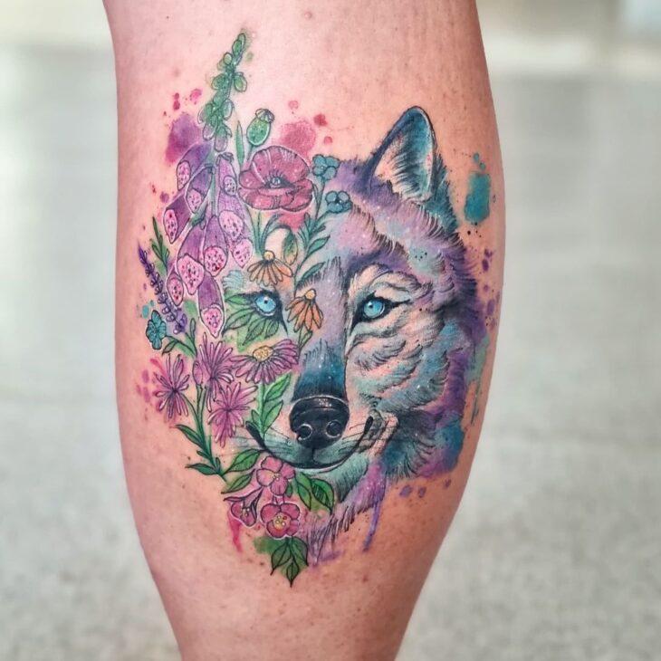 tatuagem na perna 20