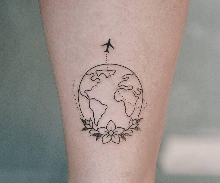 tatuagem na perna 26