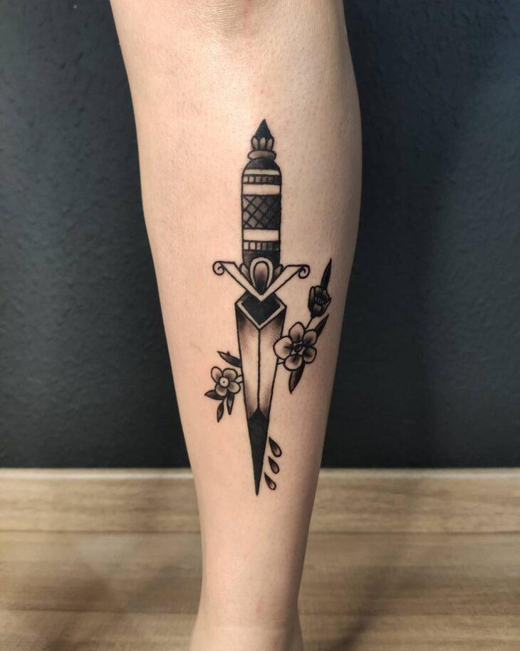 tatuagem na perna 27