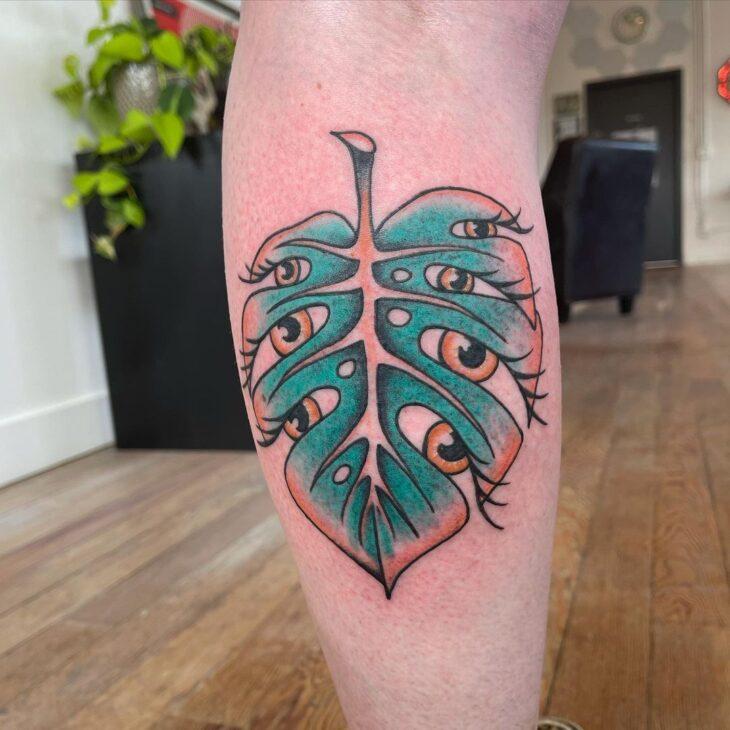 tatuagem na perna 30