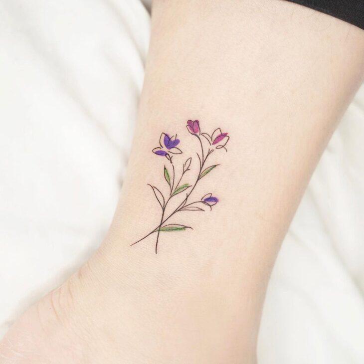 tatuagem na perna 34