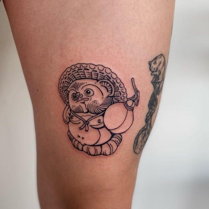 tatuagem na perna 41