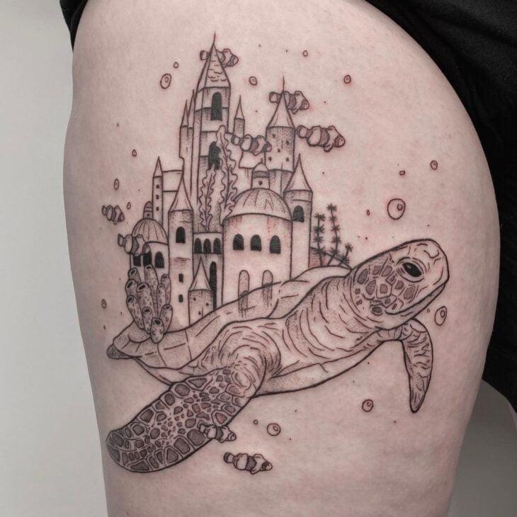 tatuagem na perna 42