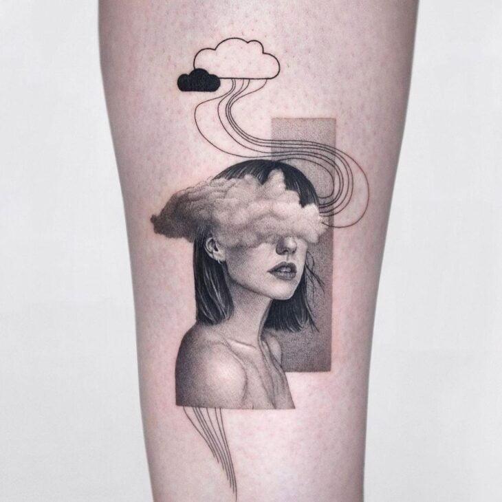 tatuagem na perna 43