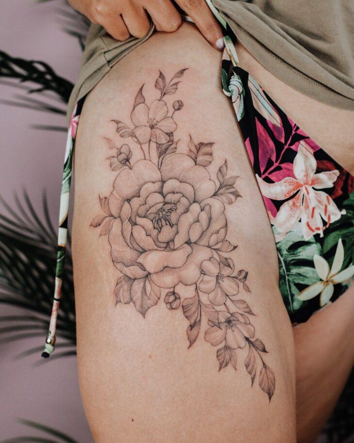 tatuagem na perna 44