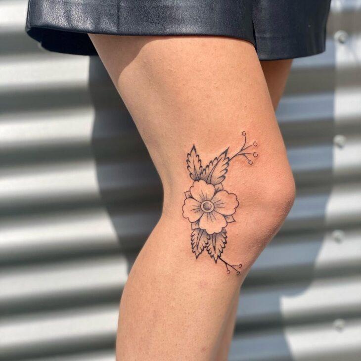 tatuagem na perna 45