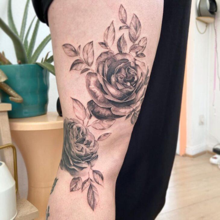 tatuagem na perna 46