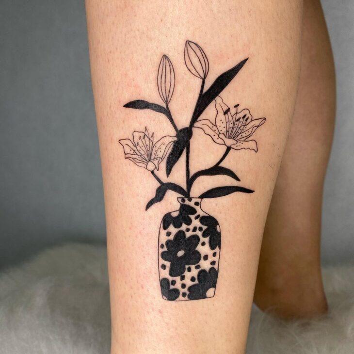 tatuagem na perna 47