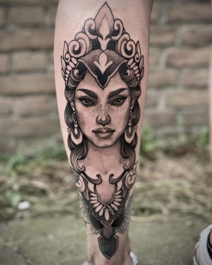 tatuagem na perna 48