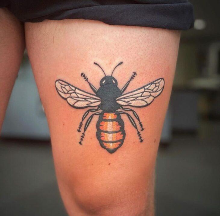 tatuagem na perna 51