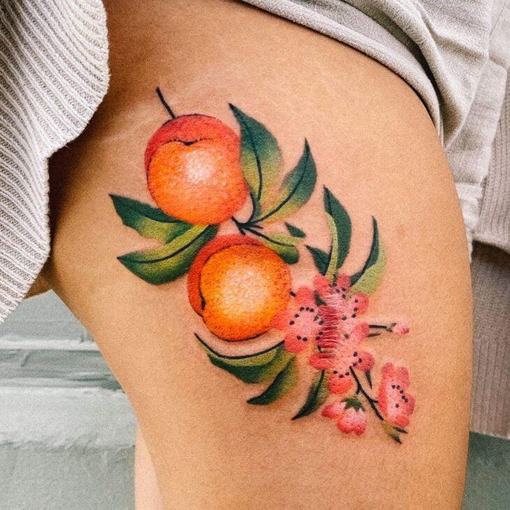 tatuagem na perna 53