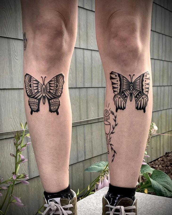 tatuagem na perna 61