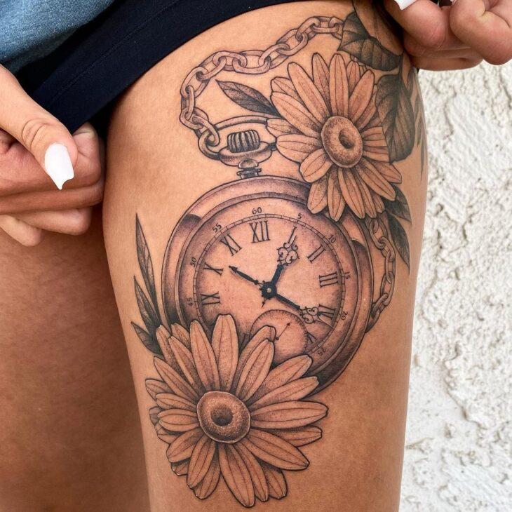 tatuagem na perna 67