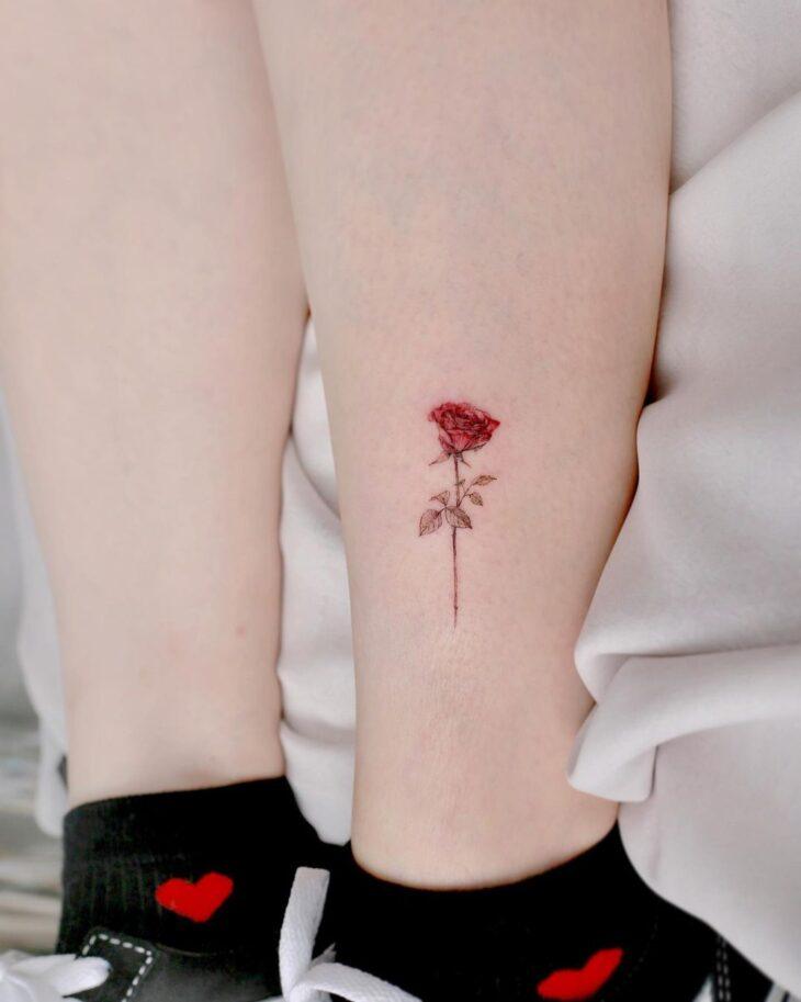 tatuagem na perna 69