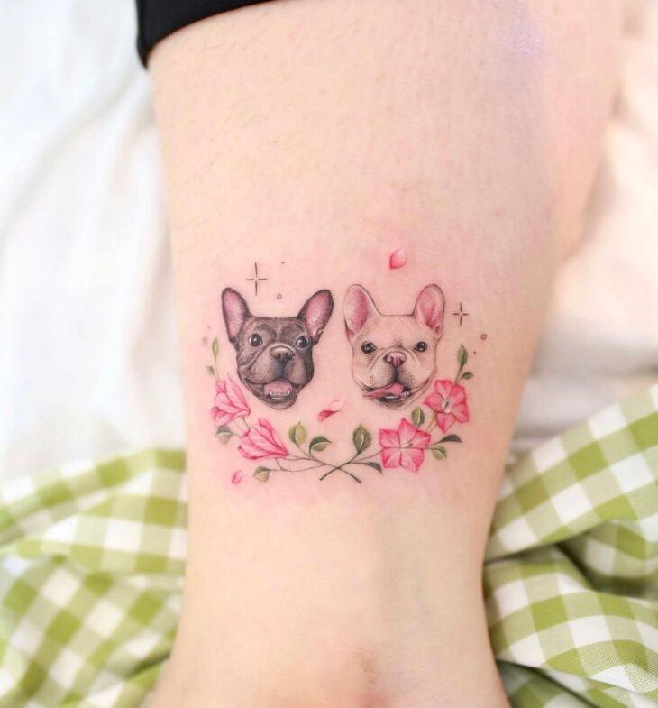 tatuagem na perna 8