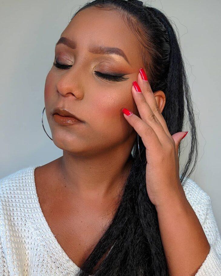maquiagem marrom 8