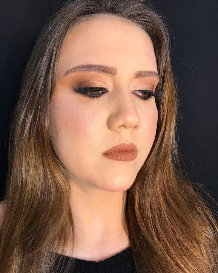 maquiagem marrom 62