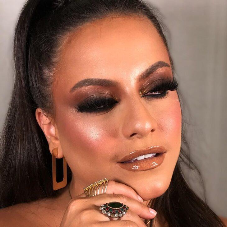 maquiagem marrom 11