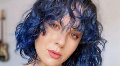 50 fotos de mechas azuis incríveis para um visual bem moderno