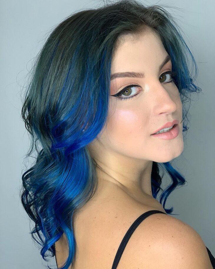 mechas azuis 13