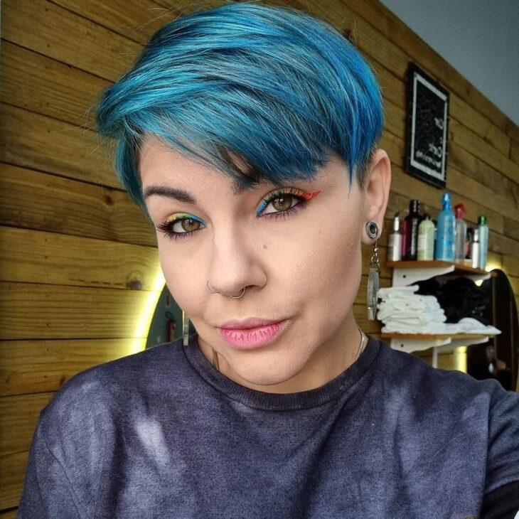 mechas azuis 31