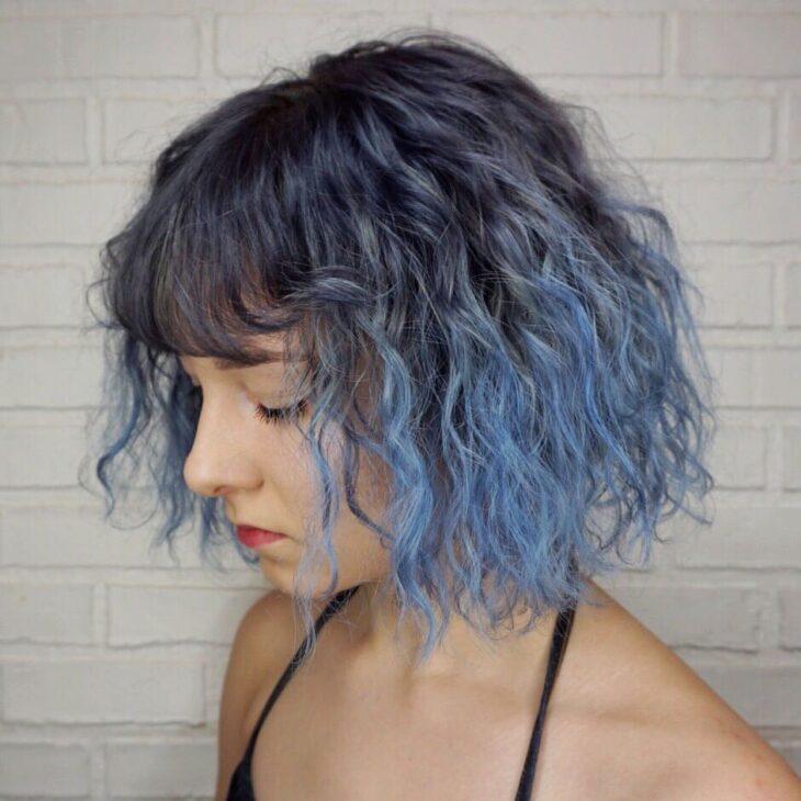 mechas azuis 39
