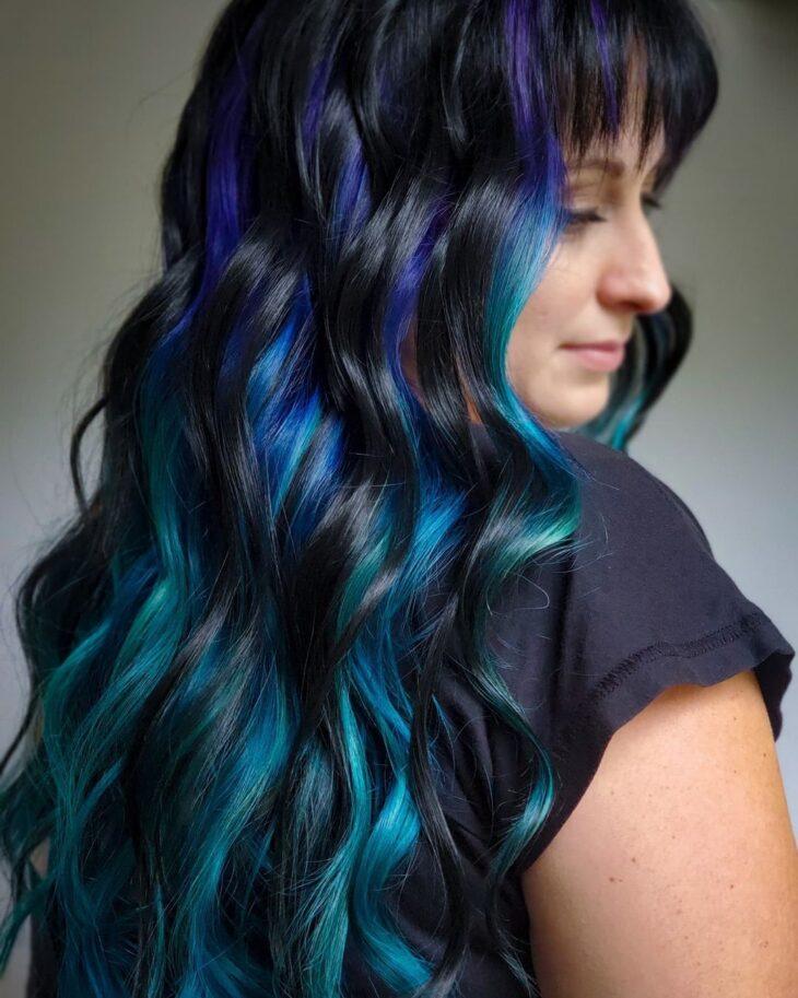 mechas azuis 43