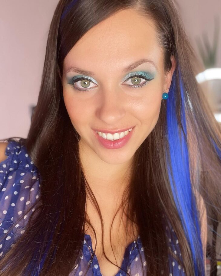 mechas azuis 48