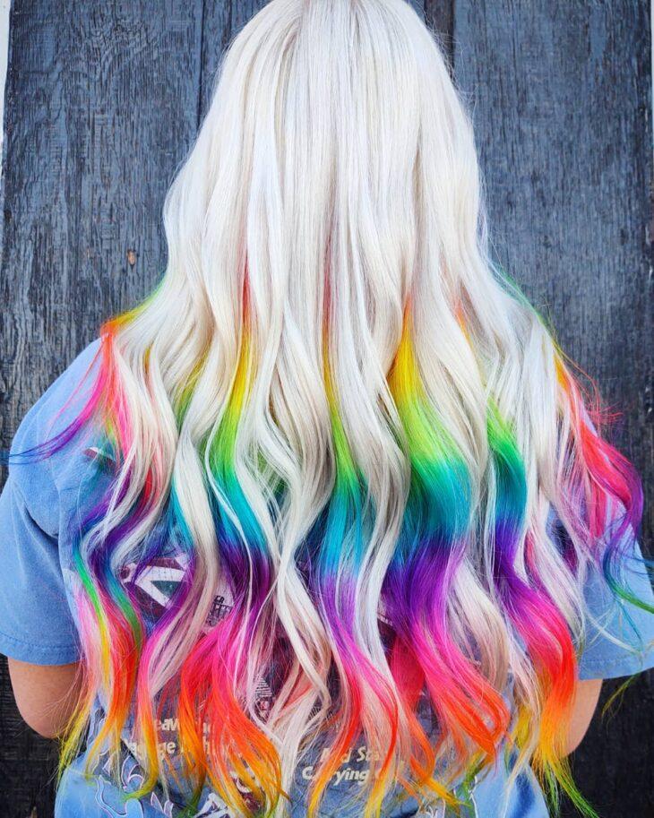 mechas coloridas 35