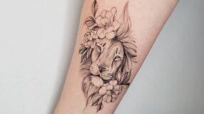 90 ideias de tatuagem de leão para tatuar o rei da floresta