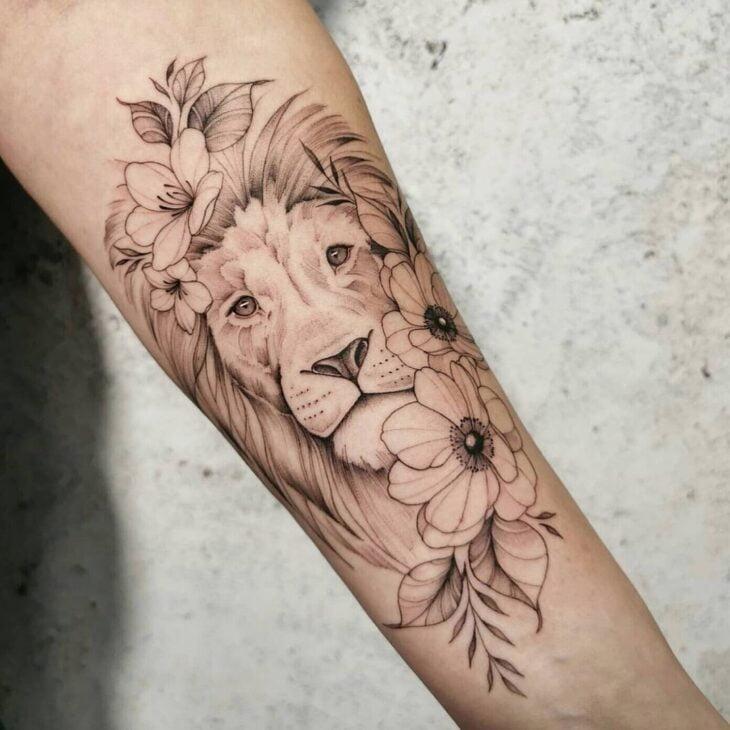 tatuagem de leão 11