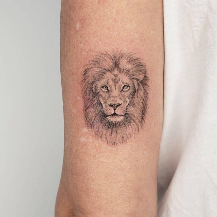 tatuagem de leão 12