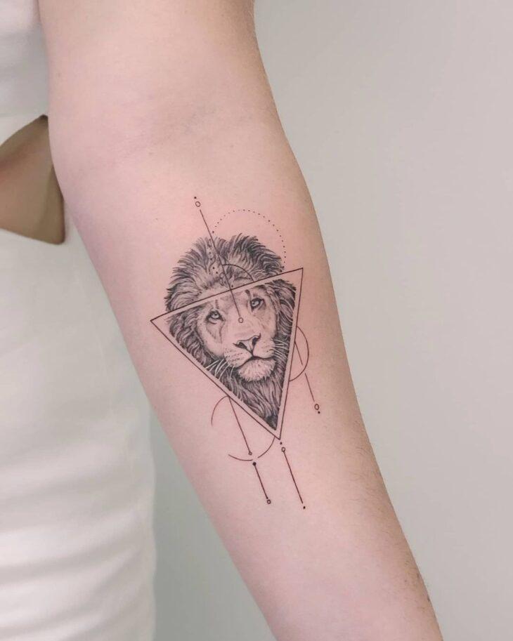 tatuagem de leão 13