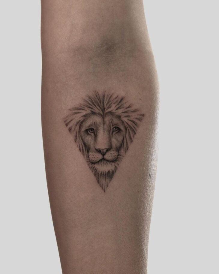 tatuagem de leão 15