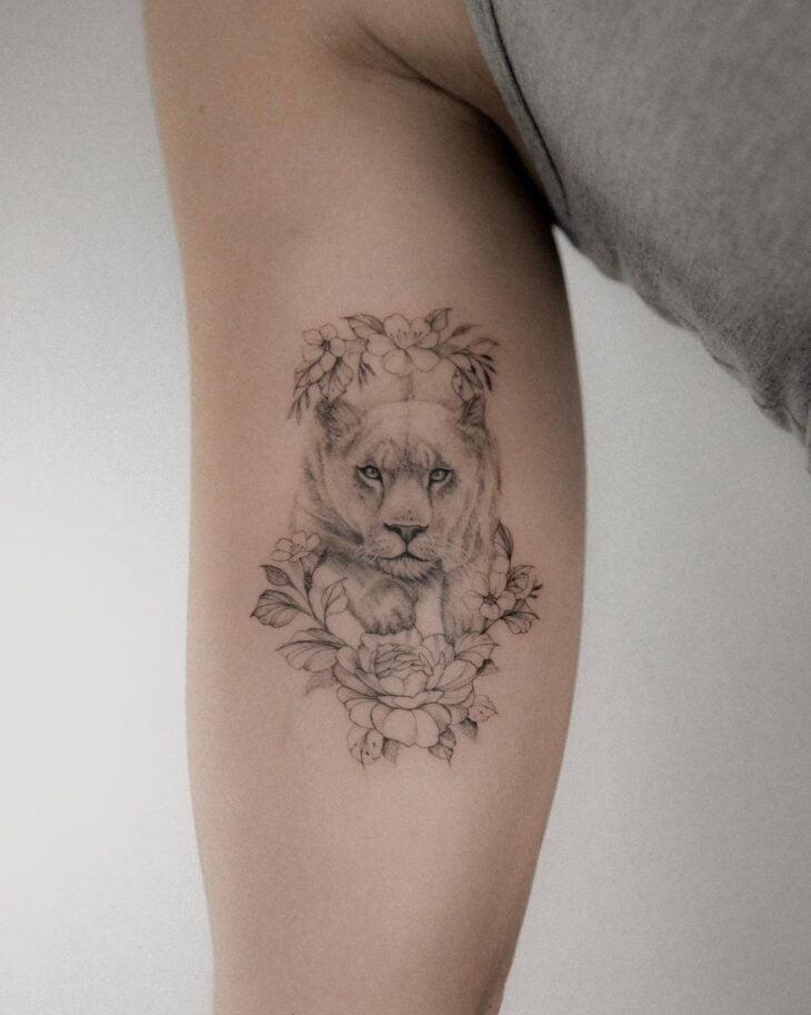 tatuagem de leão 16