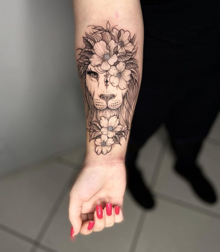 tatuagem de leão 19