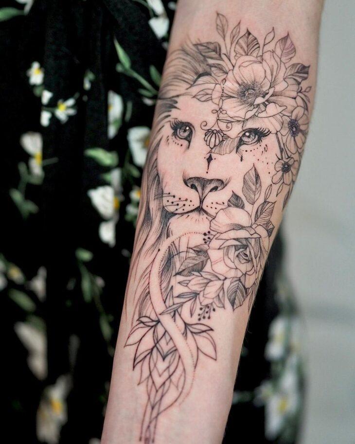tatuagem de leão 2