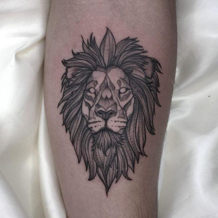 tatuagem de leão 24