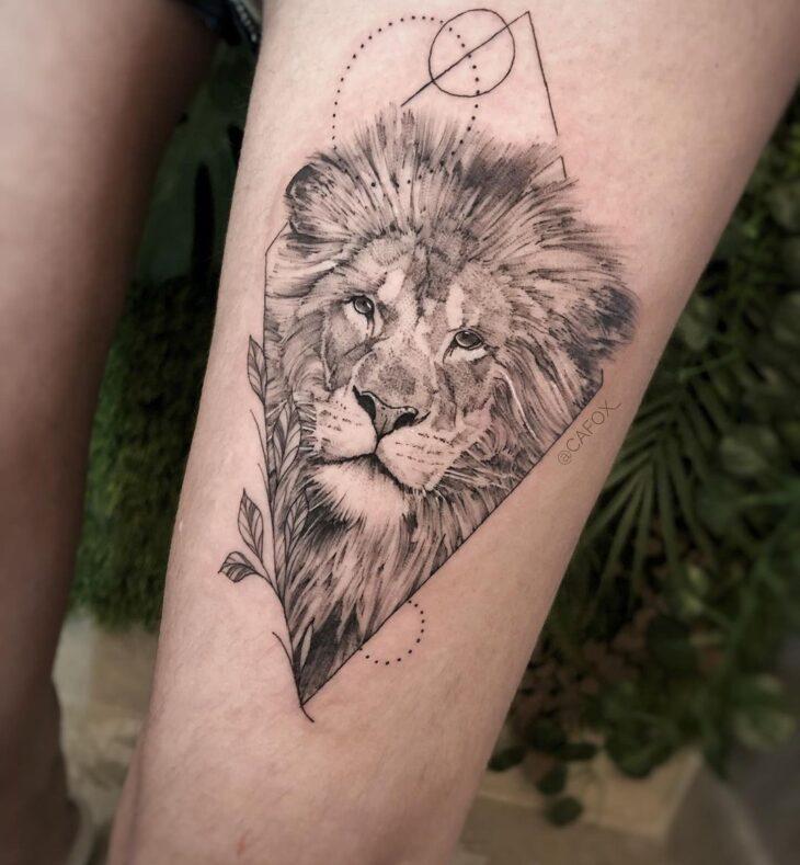 tatuagem de leão 25
