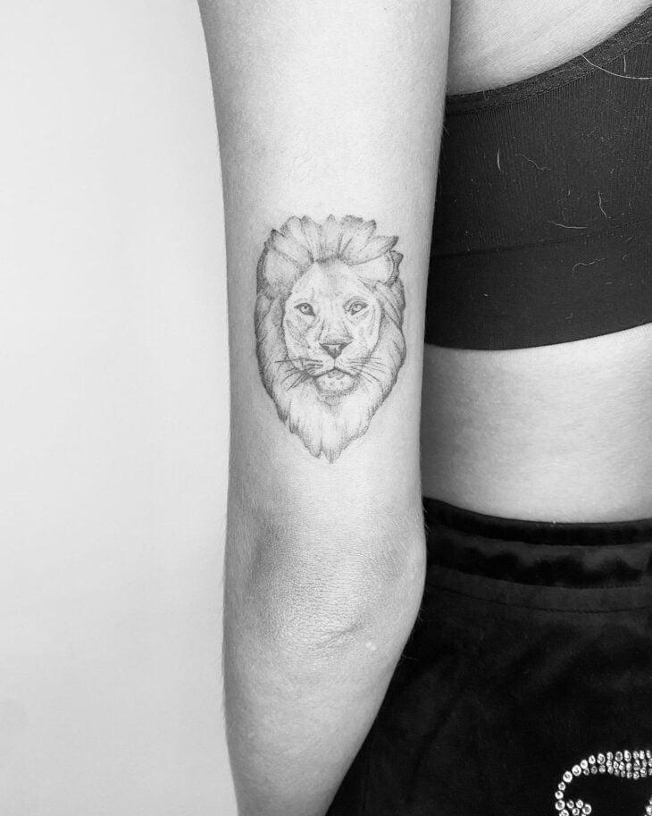tatuagem de leão 26