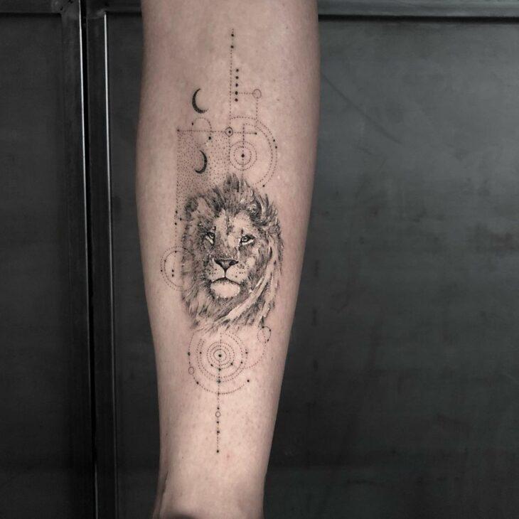 tatuagem de leão 27