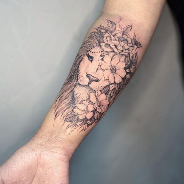 tatuagem de leão 29
