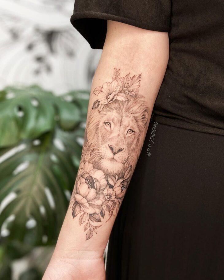 tatuagem de leão 3