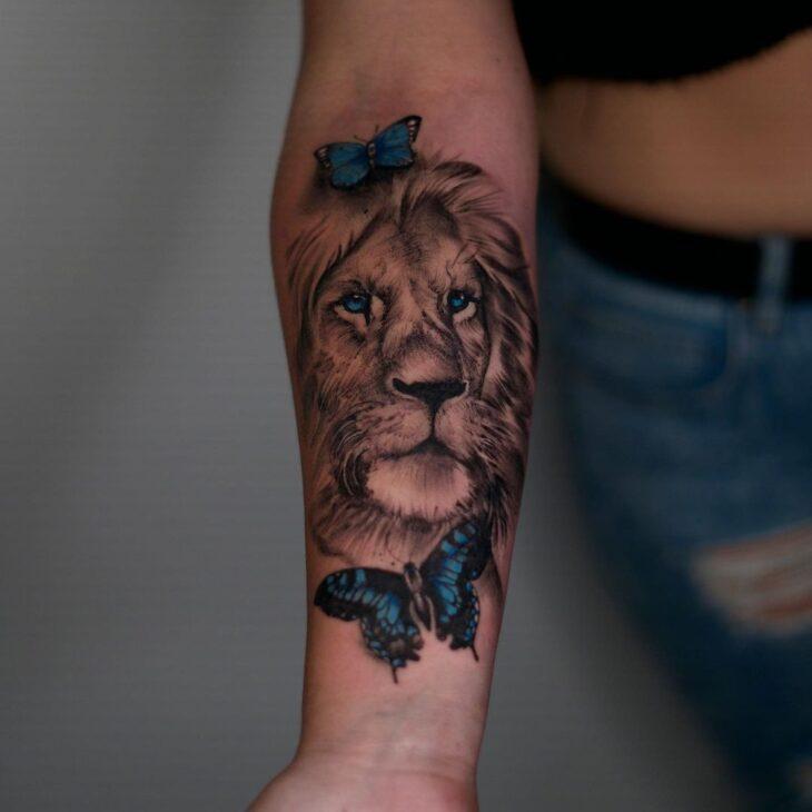 tatuagem de leão 30