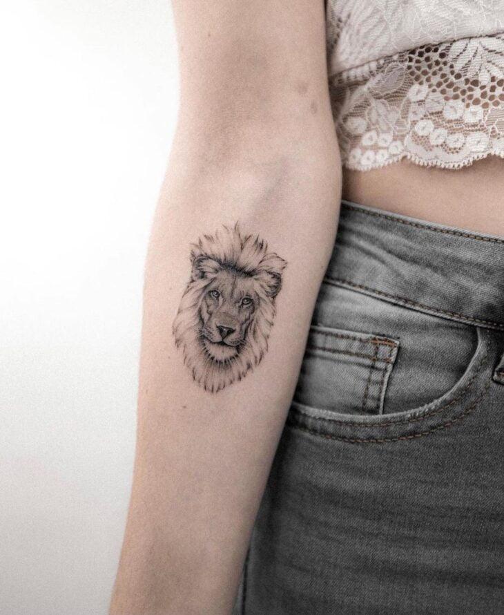 tatuagem de leão 31