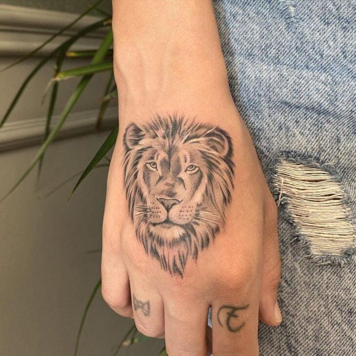 tatuagem de leão 32