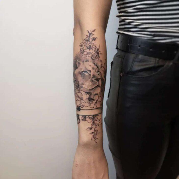 tatuagem de leão 33