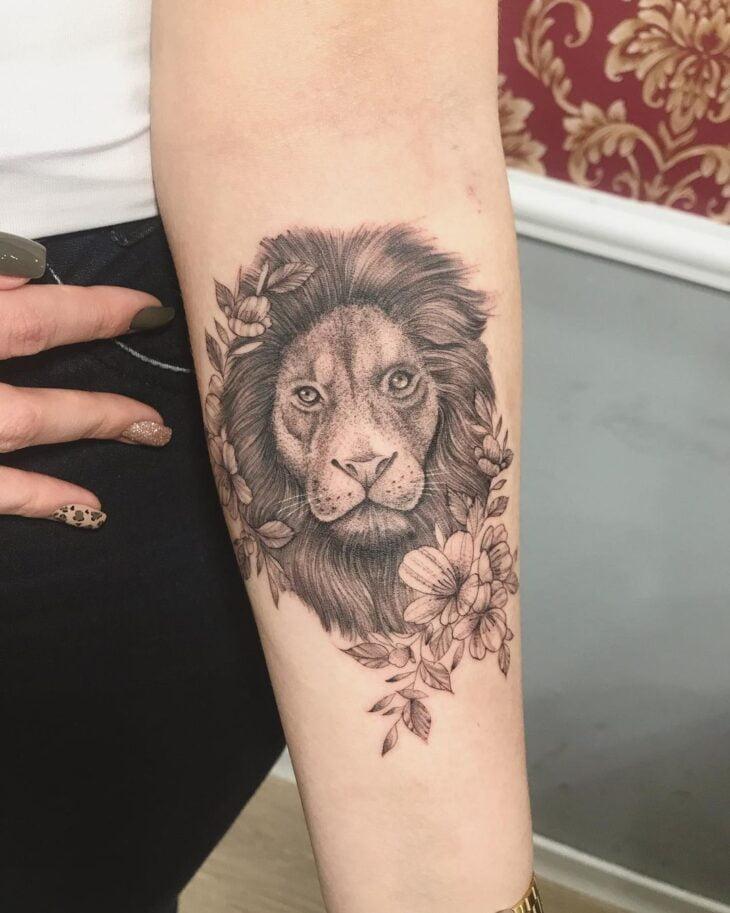 tatuagem de leão 39