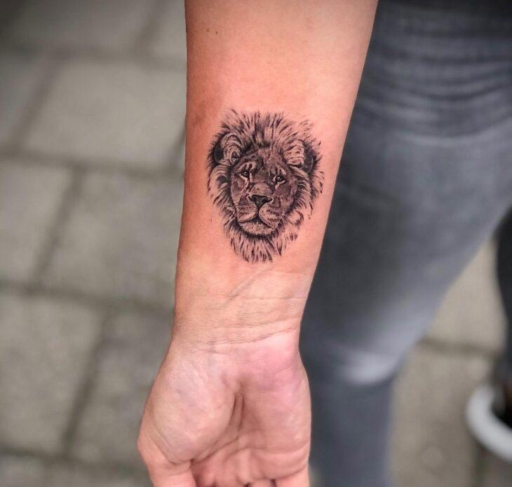 tatuagem de leão 40