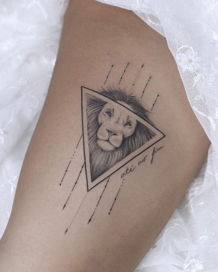 tatuagem de leão 43